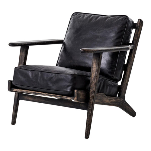 Baxter Black Lounge Chair