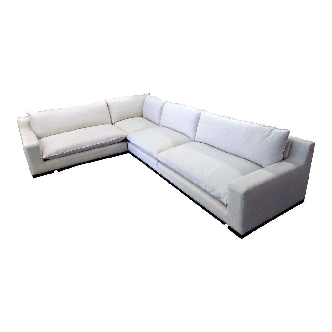 Modern Bixby Knife Edge Modular Sectional