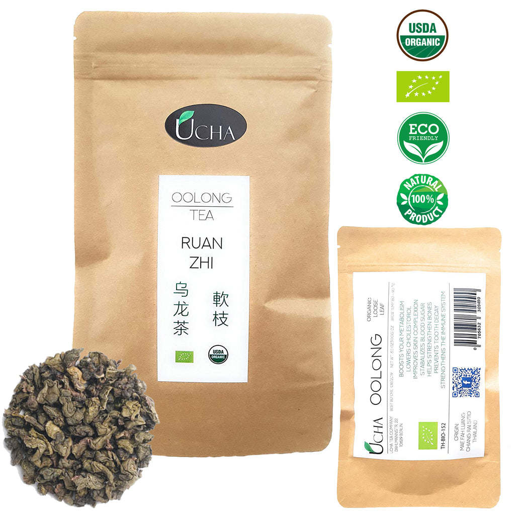 Organic Bio Oolong Tea - Ruan Zhi (Thailand- Doi Mae Salong)
