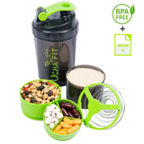 Ucha Fit 3 In 1 Protein Shaker