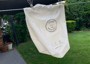 How to wash your reusable bread bag.