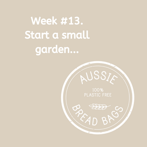 Week #13. Add a small veggie garden.
