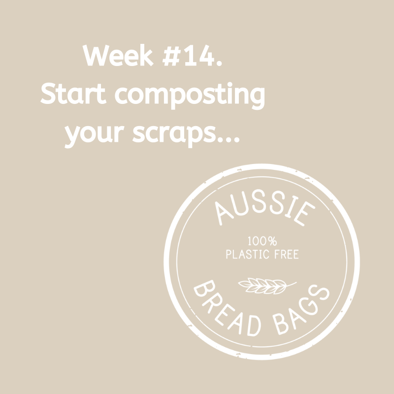 Week #14. Start composting your scraps