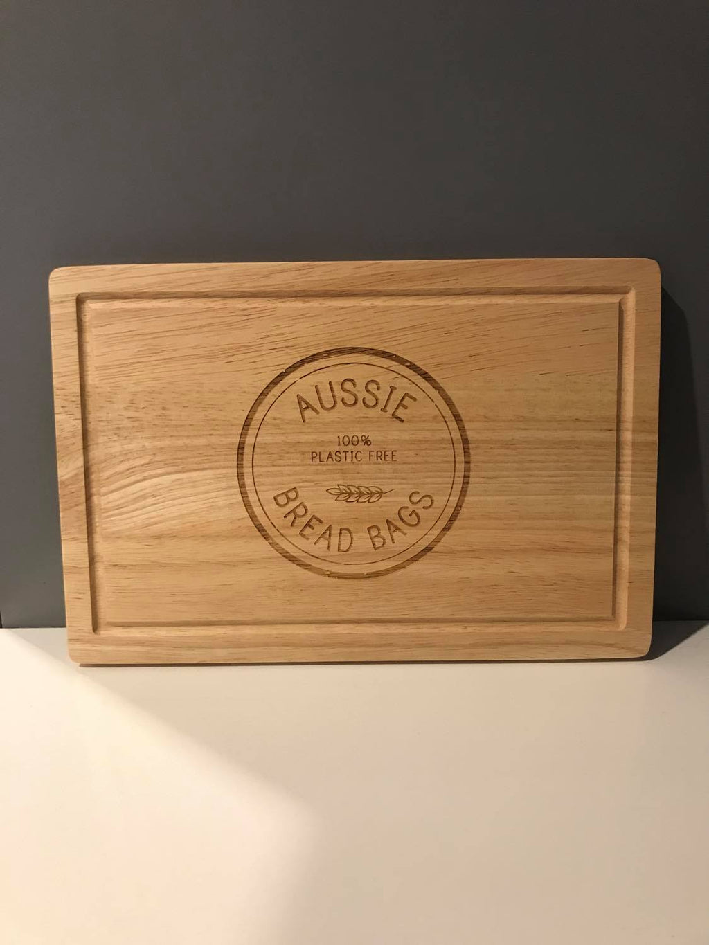 Aussie Bread Bag Chopping Board