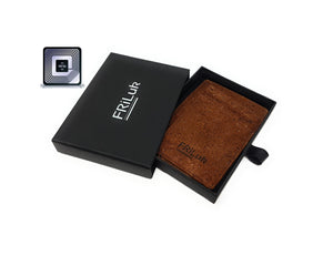 RFID Blocking Wallet with Money Clip