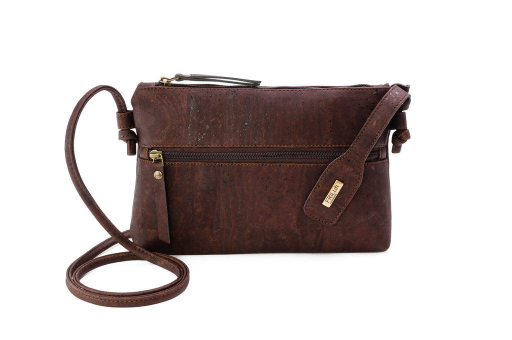 brown vegan handbags