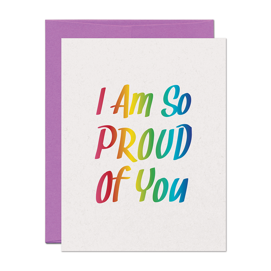 Warren Tales - Proud Of You Card