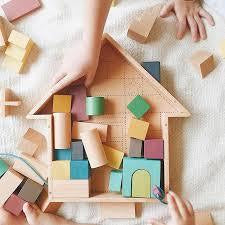 kiko+ & gg* Tsumiki Building Blocks House