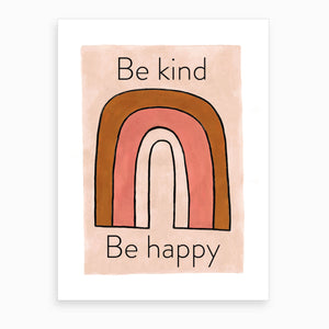Be Kind Be Happy