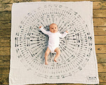 Load image into Gallery viewer, Faded Arrows Organic Swaddle Scarf