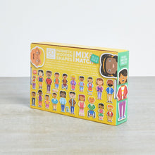 Load image into Gallery viewer, MyFamilyBuilders Magnetic Wooden Shapes (60 pcs)