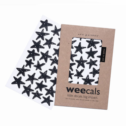 Weecals – Black Scribble Stars