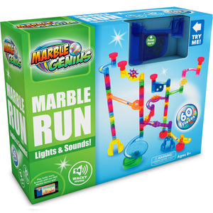Marble Genius - Marble Run Wacky Lights and Sounds