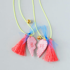 FRIENDSHIP FELT CHARM NECKLACE KIT