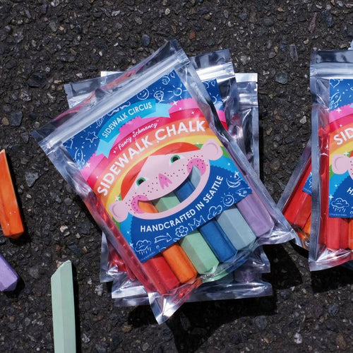 Fancy Schmancy Sidewalk Chalk
