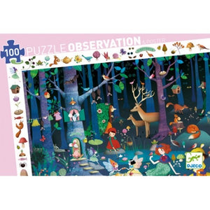 Enchanted Forest Observation Puzzle