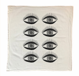 Seeing Eye Tea Cloth