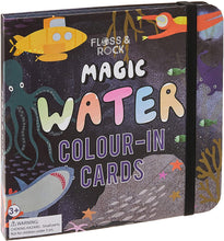 Load image into Gallery viewer, Magic Water Colour-In Cards