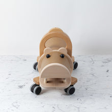 Load image into Gallery viewer, Hippo Ride On With Storage Compartment