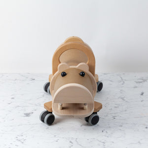 Hippo Ride On With Storage Compartment