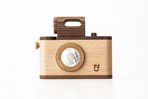 Vintage Style 35MM Wooden Camera
