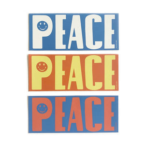 Large Peace Sticker