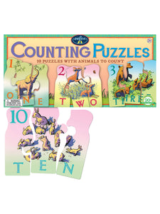 Animal Counting Puzzle