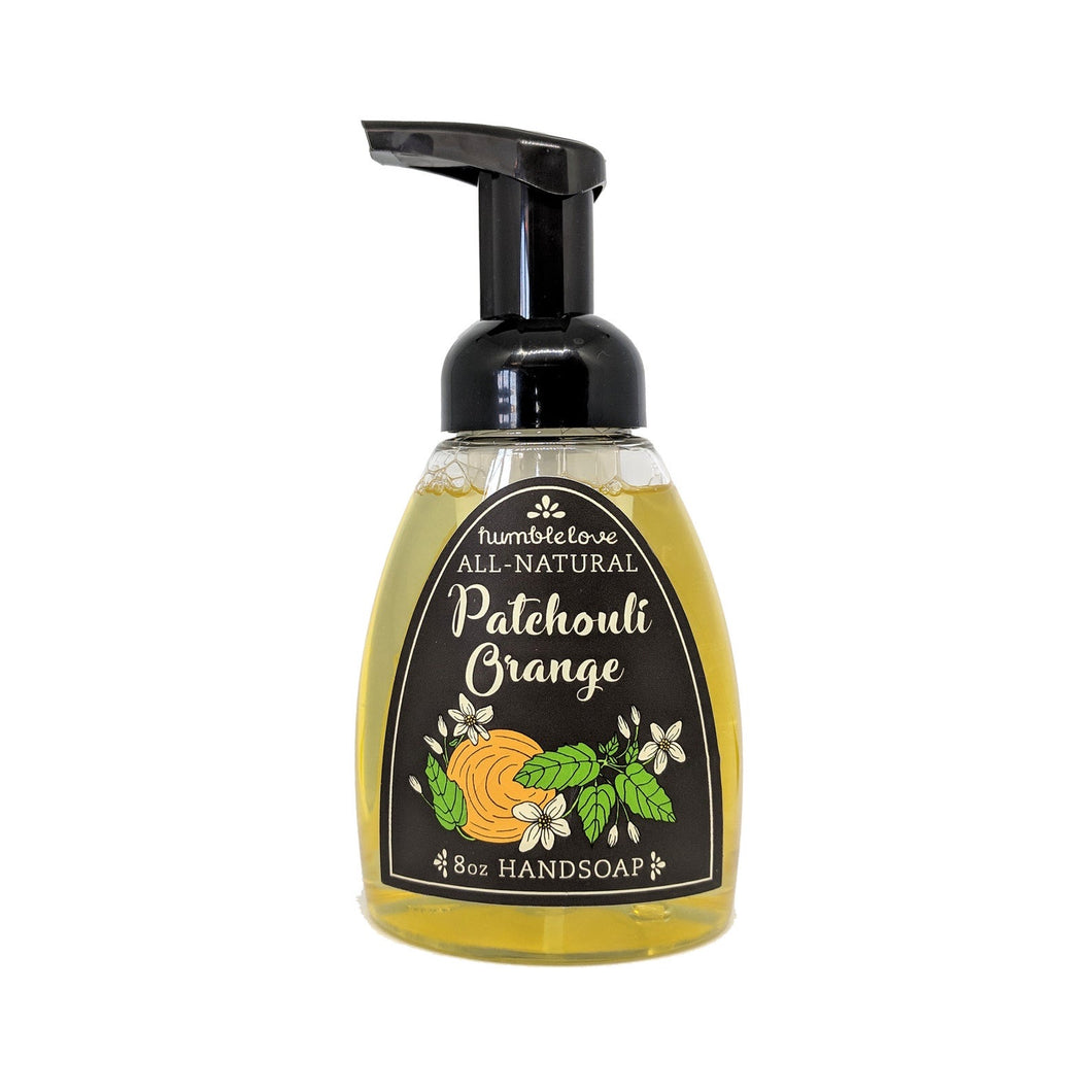 Patchouli Orange Liquid Hand Soap