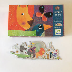 Animal Parade Giant Floor Puzzle