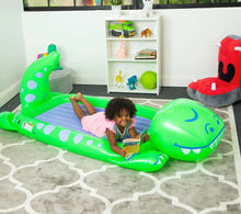 Load image into Gallery viewer, Dinosaur Dream Floatie Sleepover Bed