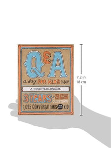 Q & A a day for kids journal