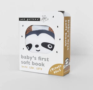 Baby's First Soft Book: Swing Slow Sloth