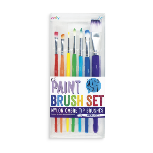 Lil' Paint Brush Set - Set of 7