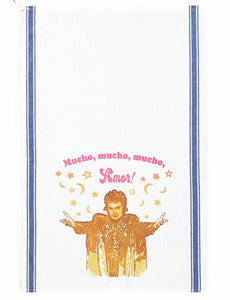 Walter Mercado Tea Towel