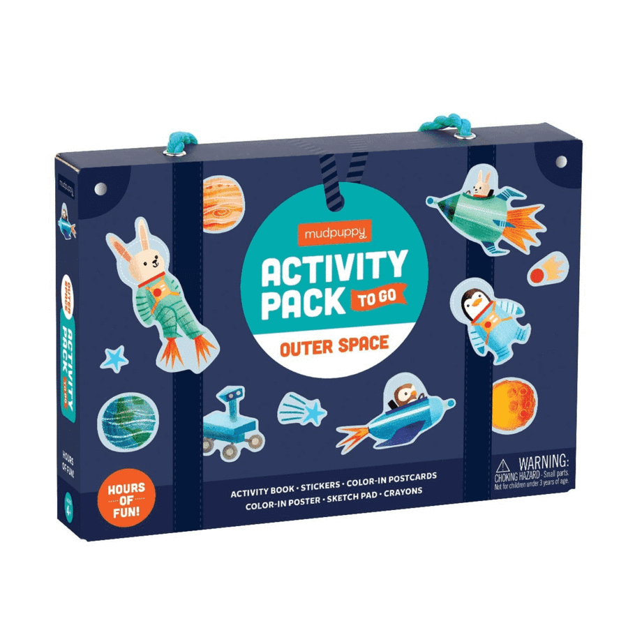 Activity Pack To Go- Outer Space