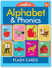 Load image into Gallery viewer, Alphabet & Phonics Flash Cards