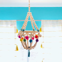 Load image into Gallery viewer, Wooden Mobile Chandelier