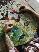 Load image into Gallery viewer, Hummingbird 500 Piece Puzzle