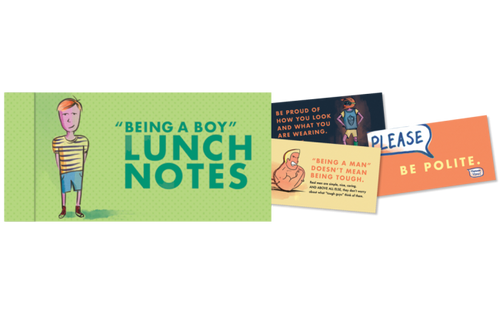 Lunch Notes For Boys
