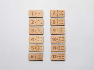 Domino Matching Puzzle Set