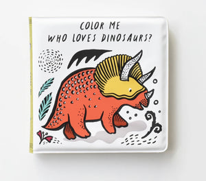 Color Me: Who Loves Dinosaurs?