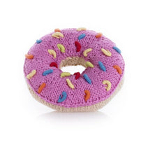 Load image into Gallery viewer, Pink Donut Rattle