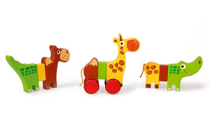 Magnetic Rolling Animals