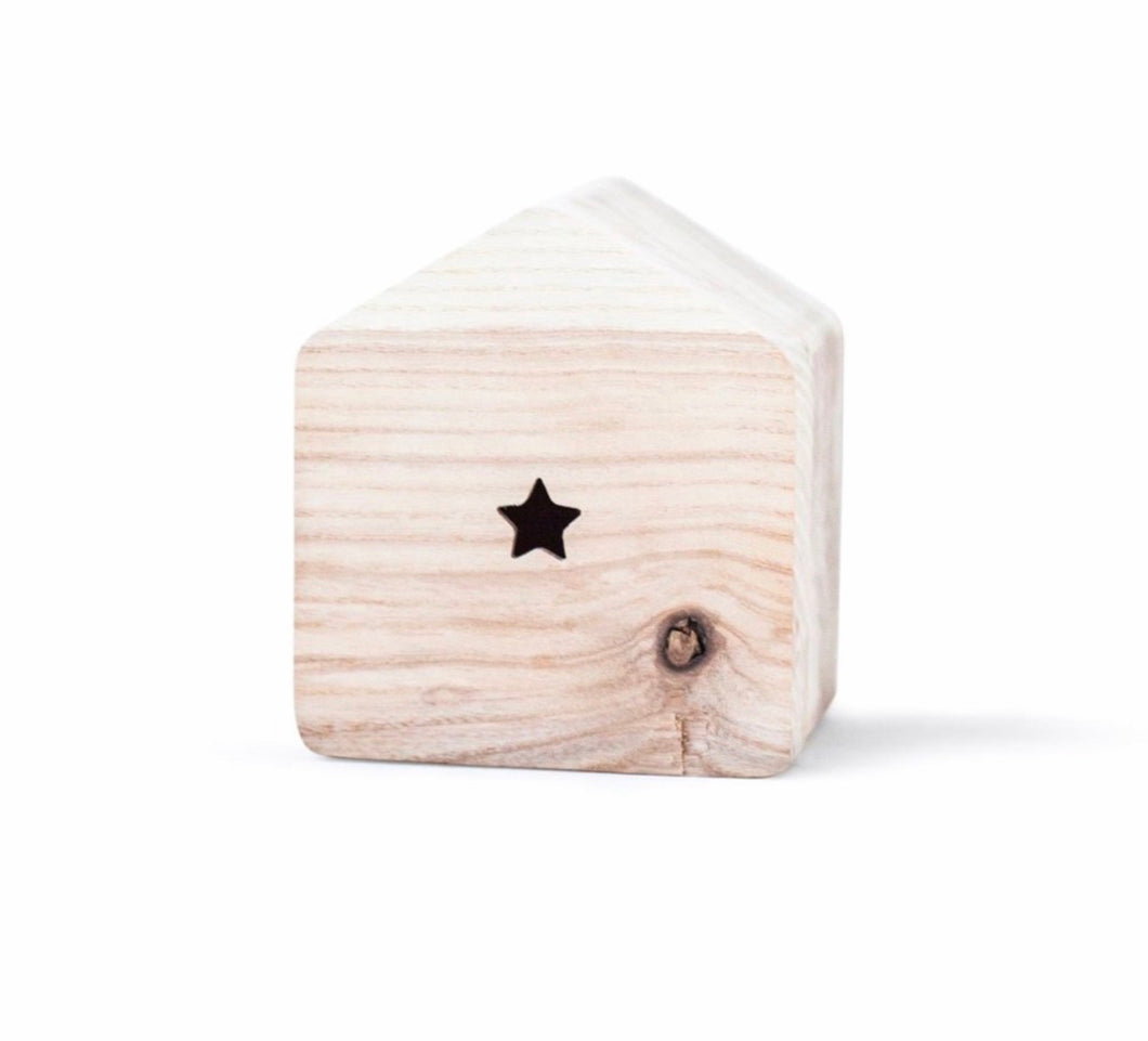 Small Wooden Money Box