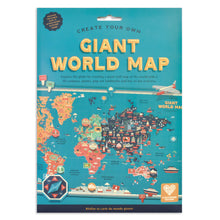 Load image into Gallery viewer, Create Your Own Giant World Map- Clockwork Soldier