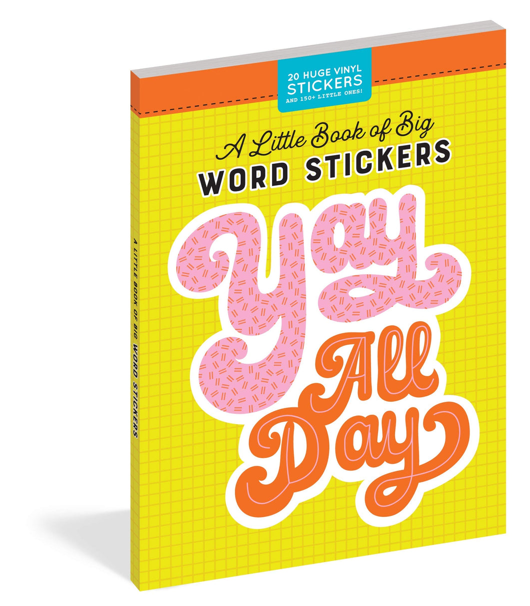 A Little Book Of Big Word Stickers