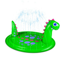 Load image into Gallery viewer, Dinosaur Splash Pad Sprinkler