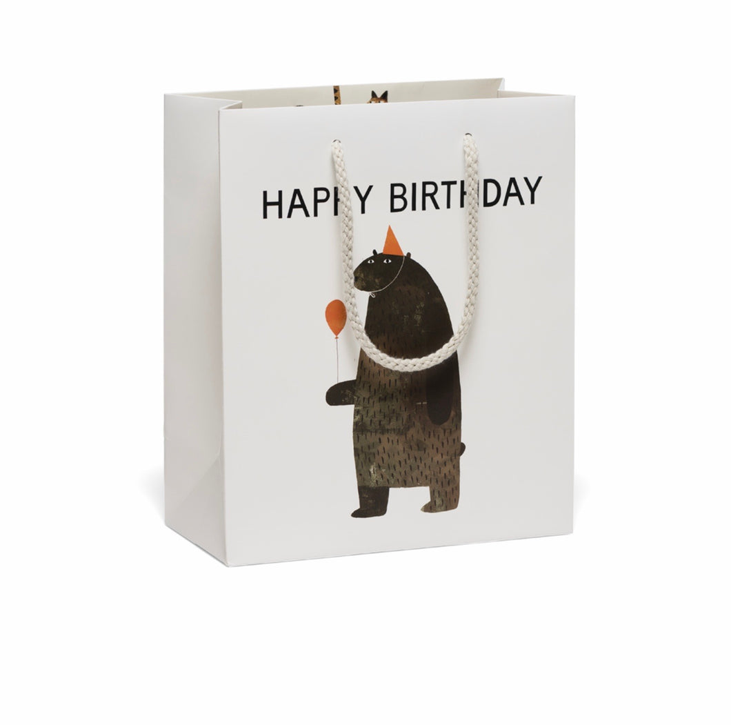 Happy Birthday Bear Gift Bag
