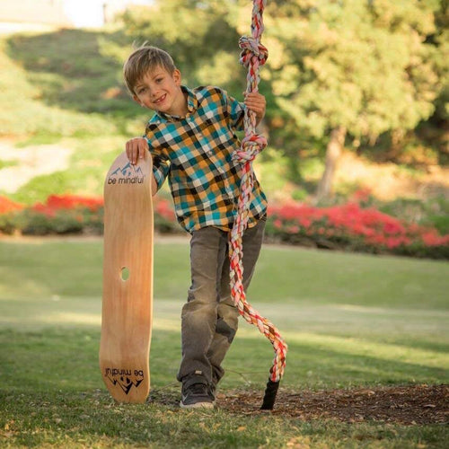 Be Mindful Skateboard Swing