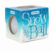 Load image into Gallery viewer, Snow Ball Stress Ball
